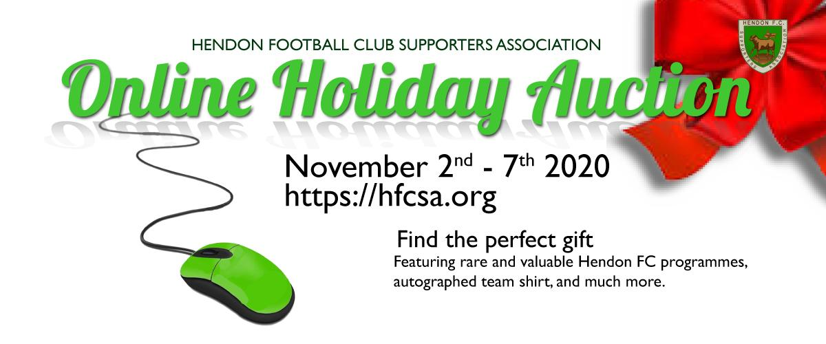 HFCSA Online Holiday Auction